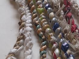 Hand-made Bast Yarn