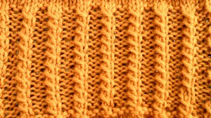2-stitch/Ribbing Cable
