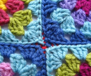 slip stitch join