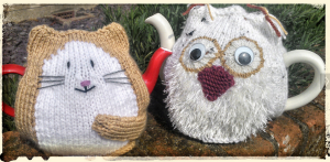 The Owl and the Pussycat TeaCosies.