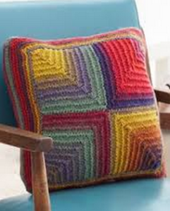 mitred cushion