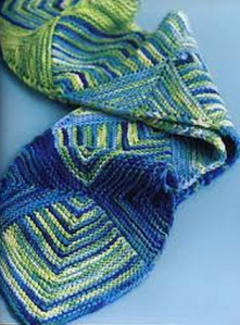 mitred scarf