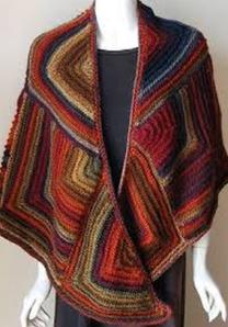 mitred shawl1