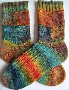 mitred socks