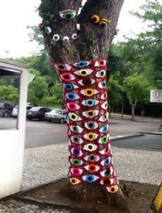 brazil yarnbombing