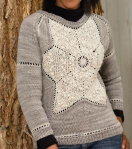 Knit+Crochet pullover