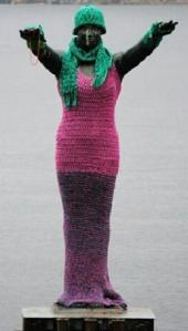 perth yarnbombing