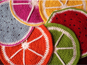 All fruit tablemats