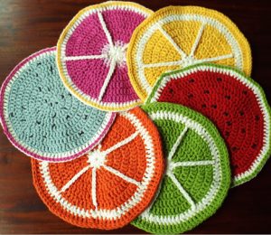 all the fruits tablemats