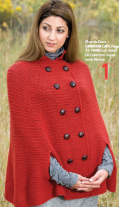 Interweave Crochet pattern for cape