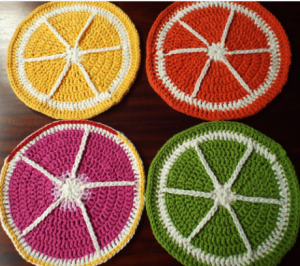 citrus fruit tablemats