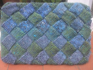 Entrelac Laptop cover