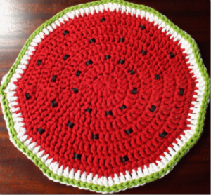 watermelon tablemat