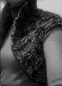 Body warmer worn