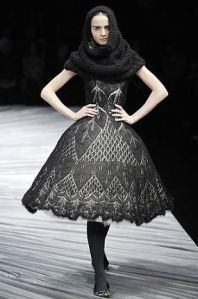 Alexander McQueen - I love the lace design